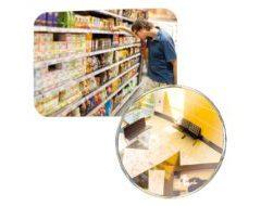 Vialux Ladenspiegel – Überwachungsspiegel