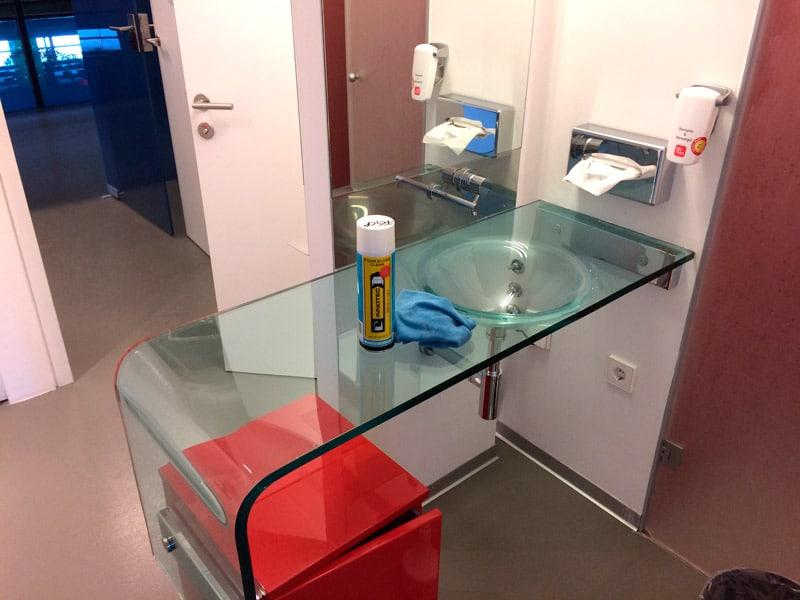 Innotec Glass Clean Pro Glasreiniger Anwendung 3