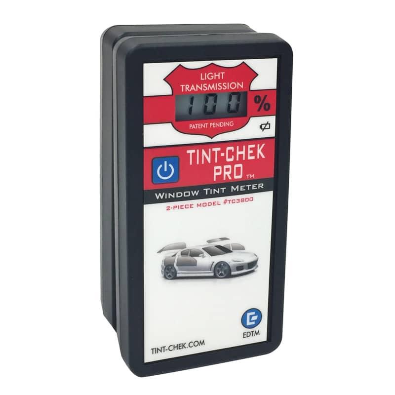 Tint-Chek Pro TC3800 EDTM Messgerät für Lichttransmission VLT